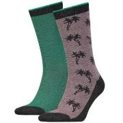 Levis 2-pack 168SF Regular Cut Micro Stripe Palm Socks * Fri Frakt * *...