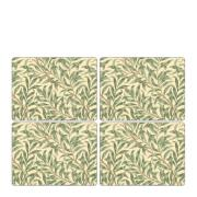 Willow Bough Tabletter 30x40 cm 4-pack Grön