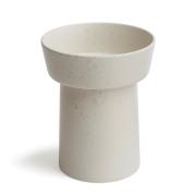 Ombria vas marble white (vit)