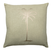 Palm kudde grön