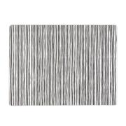 Varvunraita bordstablett svart-vit