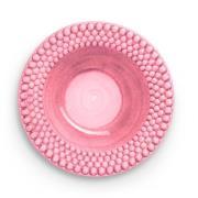 Bubbles Sopptallrik 25 cm, Rosa