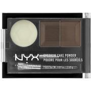 NYX PROFESSIONAL MAKEUP Eyebrow Cake Powder Darkbrown/Brown