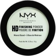 NYX PROFESSIONAL MAKEUP High Definition Finishing Powder Mint Green