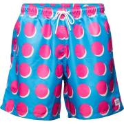 Frank Dandy Non-Violence Dots Swim Shorts Blue S