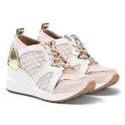 Michael Kors Wedge Sneakers Rosa/Vit/Guld 29 (UK 11)