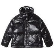 Calvin Klein Jeans Black Branded Puffer Jacket 6 years