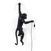 Monkey Lamp Outdoor Hanging Vänster Version, Svart