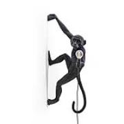Monkey Lamp Outdoor Hanging Höger Version, Svart