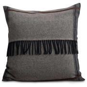 Argyle Wool Kuddfodral 50x50 cm, Grå