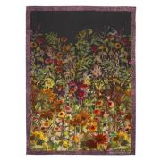 Indian Sunflower Pläd 130x180 cm, Graphite