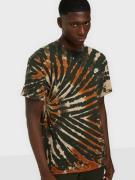 Nike Sportswear M Nsw Ss Tee Tie Dye Lbr T-shirts & linnen Multi